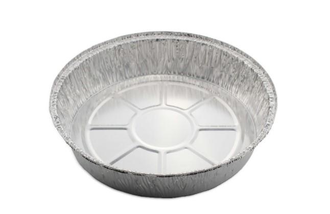 aluminum tray round
